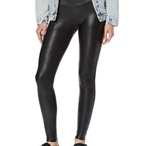 Spanx ready to wow faux leather leggings new